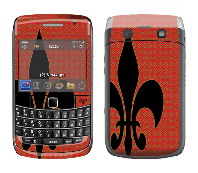 BlackBerry Bold 9700 Skin :: Royal Heraldry