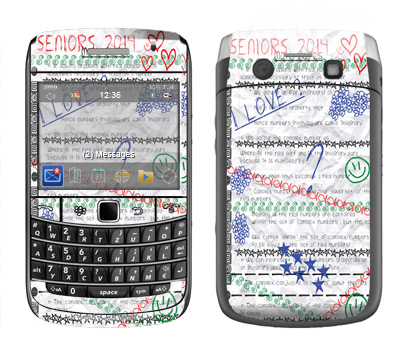 BlackBerry Bold 9700 Skin :: Seniors 2014