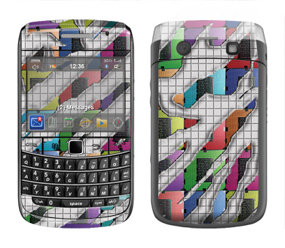 BlackBerry Bold 9700 Skin :: Shredded Circuit