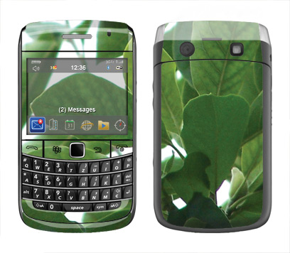 BlackBerry Bold 9700 Skin :: Summer Leaves