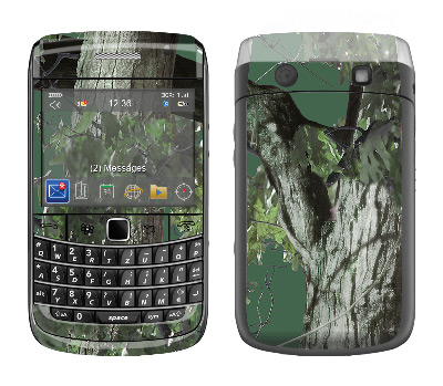 BlackBerry Bold 9700 Skin :: Tree Camo Green