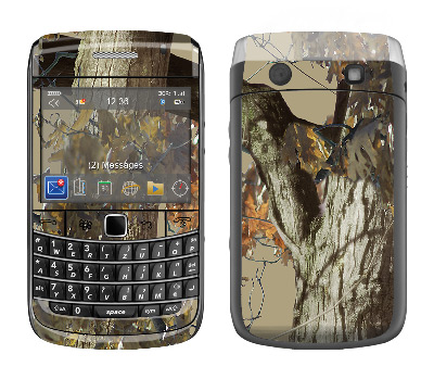 BlackBerry Bold 9700 Skin :: Tree Camo Tan