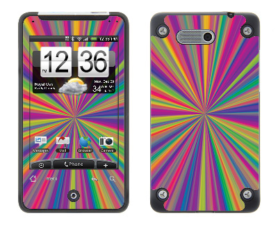 HTC Aria Skin :: Color Blast