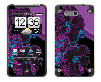 HTC Aria Skin :: Cosmic Flowers 1