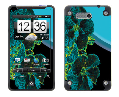 HTC Aria Skin :: Cosmic Flowers 2
