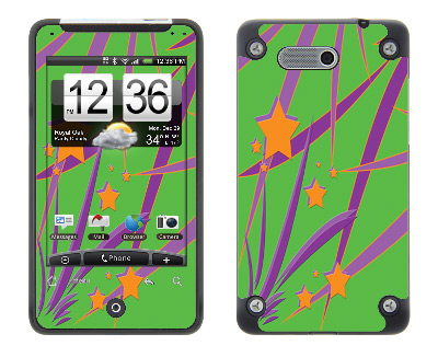 HTC Aria Skin :: Floating Stars