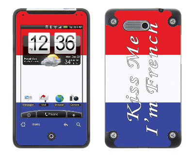 HTC Aria Skin :: Kiss Me French
