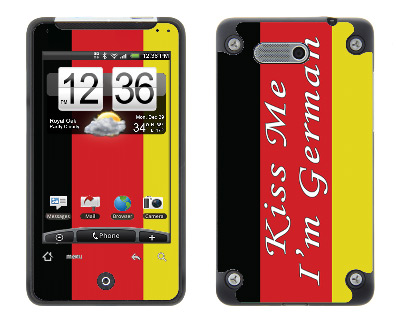 HTC Aria Skin :: Kiss Me German