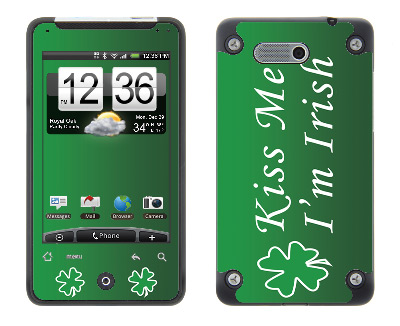 HTC Aria Skin :: Kiss Me Irish