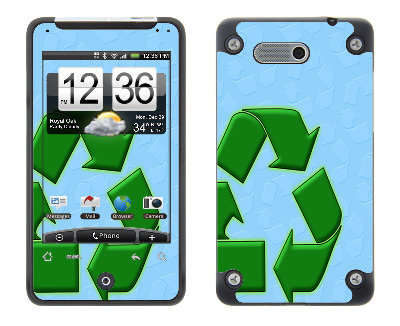 HTC Aria Skin :: Recycle
