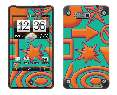 HTC Aria Skin :: Shape Up