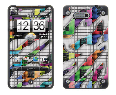 HTC Aria Skin :: Shredded Circuit