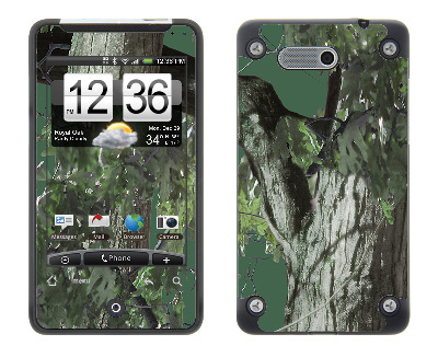 HTC Aria Skin :: Tree Camo Green