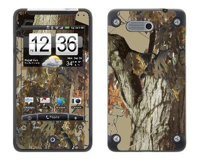 HTC Aria Skin :: Tree Camo Tan