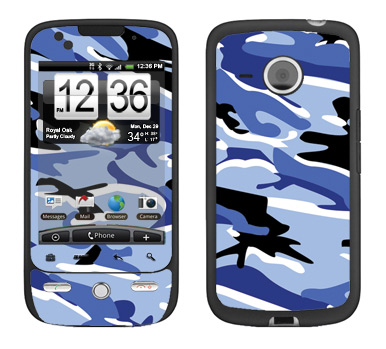 HTC Droid Eris Skin :: Camo Blue