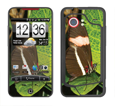 HTC Droid Incredible Skin :: Butterfly 1