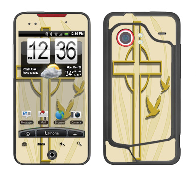 HTC Droid Incredible Skin :: Christian 1