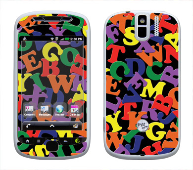 HTC myTouch 3G Slide Skin :: Alphabet Soup