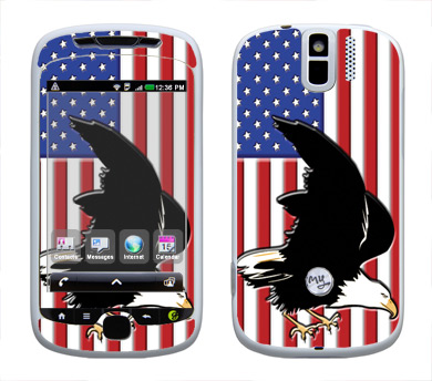 HTC myTouch 3G Slide Skin :: American Flag 2