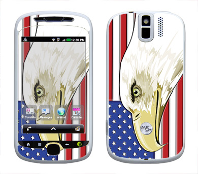 HTC myTouch 3G Slide Skin :: American Flag 3