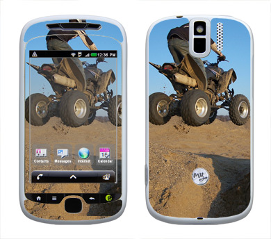 HTC myTouch 3G Slide Skin :: ATV Rider