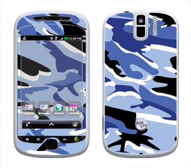 HTC myTouch 3G Slide Skin :: Camo Blue