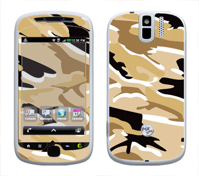 HTC myTouch 3G Slide Skin :: Camo Desert