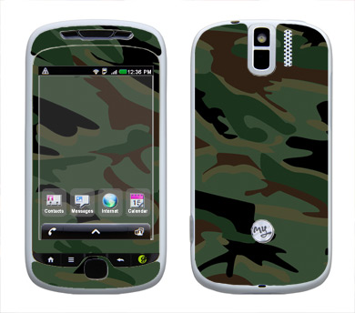 HTC myTouch 3G Slide Skin :: Camo Green