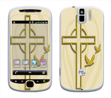 HTC myTouch 3G Slide Skin :: Christian 1