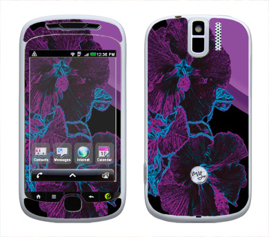 HTC myTouch 3G Slide Skin :: Cosmic Flowers 1