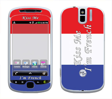 HTC myTouch 3G Slide Skin :: Kiss Me French