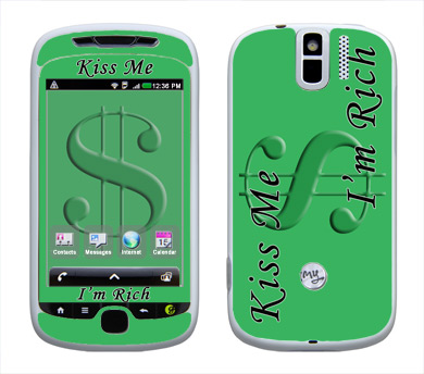HTC myTouch 3G Slide Skin :: Kiss Me Rich