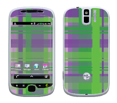 HTC myTouch 3G Slide Skin :: Punk Rock Plaid