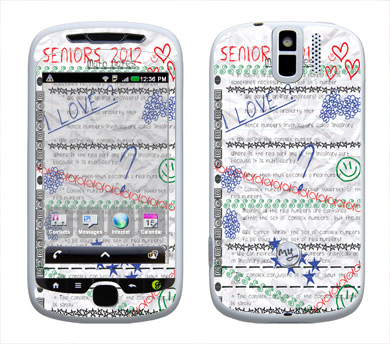 HTC myTouch 3G Slide Skin :: Seniors 2012