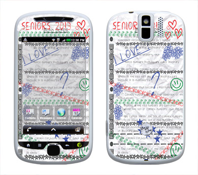 HTC myTouch 3G Slide Skin :: Seniors 2013