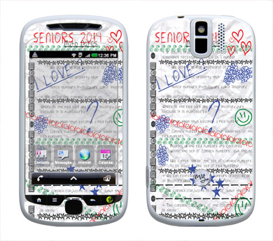 HTC myTouch 3G Slide Skin :: Seniors 2014