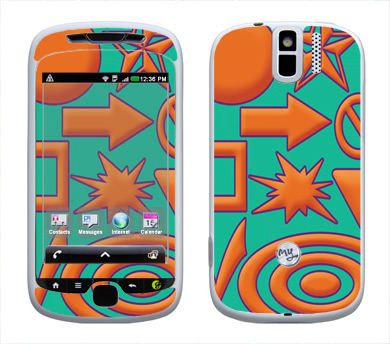 HTC myTouch 3G Slide Skin :: Shape Up
