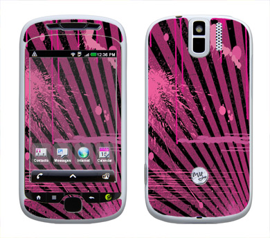 HTC myTouch 3G Slide Skin :: Splatter Pink