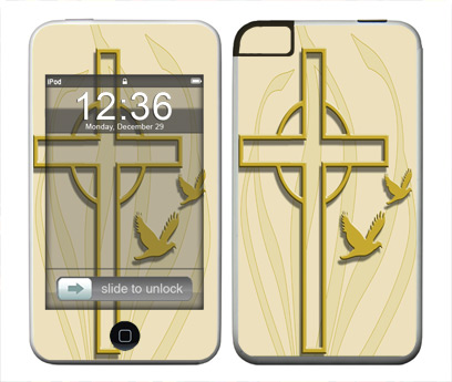 Apple iTouch (1st Gen) Skin :: Christian 1