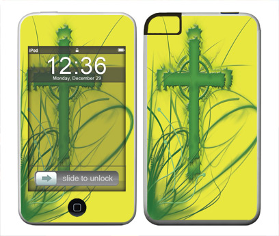 Apple iTouch (1st Gen) Skin :: Christian 2