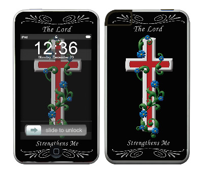 Apple iTouch (1st Gen) Skin :: Christian 3