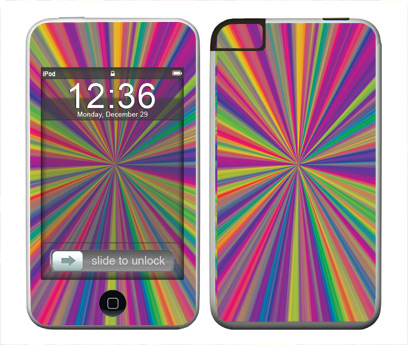 Apple iTouch (1st Gen) Skin :: Color Blast