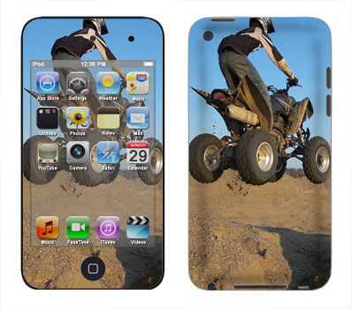 Apple iTouch 4th Gen Skin :: ATV Rider