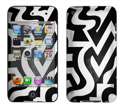 Apple iTouch 4th Gen Skin :: Chaos Theory