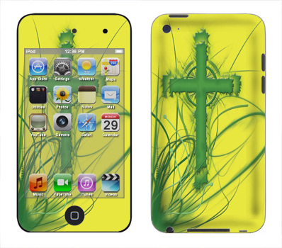 Apple iTouch 4th Gen Skin :: Christian 2