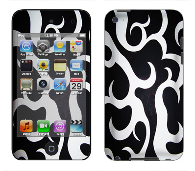 Apple iTouch 4th Gen Skin :: Curly Contours
