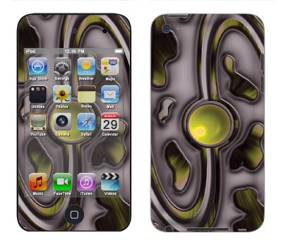 Apple iTouch 4th Gen Skin :: Cynic Yellow
