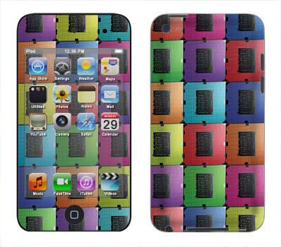 Apple iTouch 4th Gen Skin :: Spectral Circuit