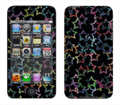 Apple iTouch 4th Gen Skin :: Star Circuit