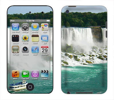 Apple iTouch 4th Gen Skin :: The Falls